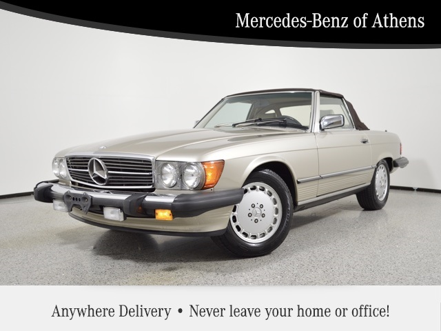 Pre-Owned 1989 Mercedes-Benz SL-Class