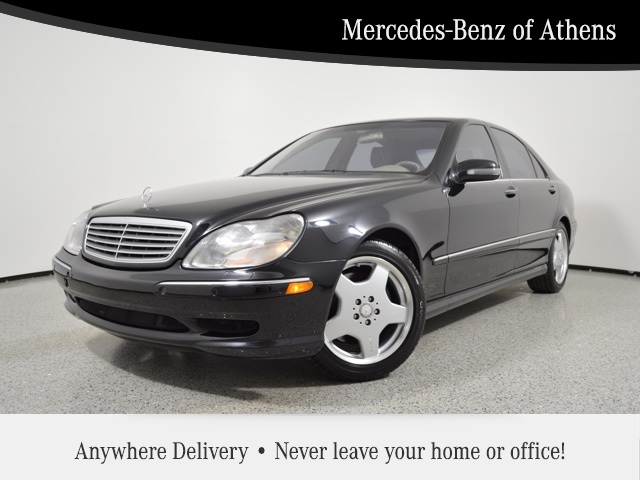 Pre-Owned 2002 Mercedes-Benz S-Class S 600