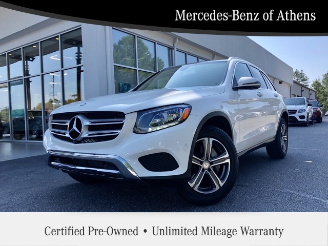Certified Pre-Owned 2016 Mercedes-Benz GLC GLC 300 SUV in Athens ...