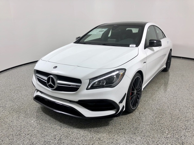 New 2019 Mercedes Benz Cla Amg Cla 45 Coupe Coupe In Watkinsville