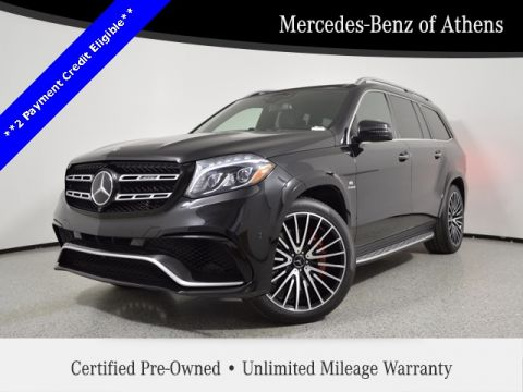 Certified Pre-Owned 2017 Mercedes-Benz GLS AMG® GLS 63 SUV