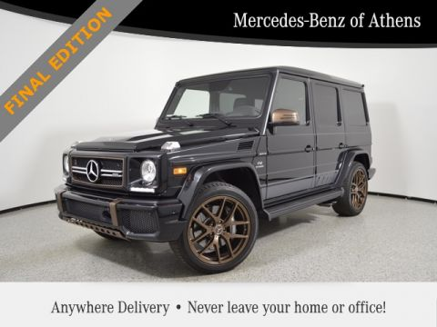 Pre-Owned 2018 Mercedes-Benz G-Class AMG® G 65 SUV