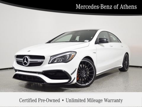 Certified Pre-Owned 2019 Mercedes-Benz CLA AMG® CLA 45 Coupe