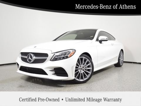 Certified Pre-Owned 2019 Mercedes-Benz C-Class C 300 Sport